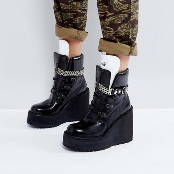 puma platform boots